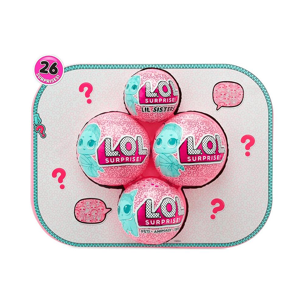 Кукла LOL Bigger Surprise (розовый чемоданчик 60 сюрпризов) - 3